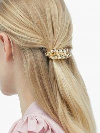 ROSANTICA BY MICHELA PANERO Liberta crystal-stud hair clip