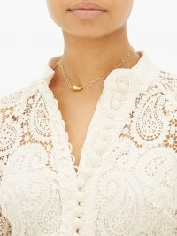 ALIGHIERI L'incognito 24kt gold choker necklace ~ luxe chain chokers