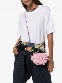 Loewe Pink Mini Gate Cross Body Bag / small crossbody bags