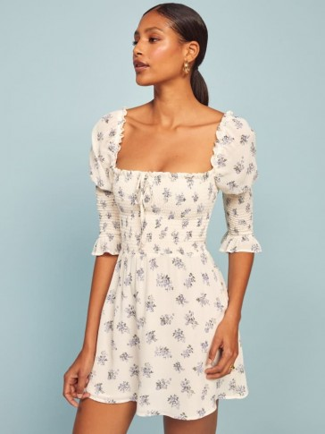 REFORMATION Loulou Dress Teresa / floral fit and flare