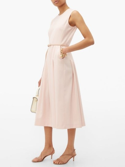 MAX MARA Mimma dress in light-pink ~ effortless summer style ~ pretty fit and flare