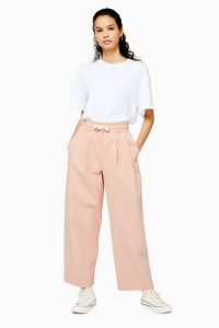 Topshop Boutique Pink Carrot Joggers | sports luxe fashion