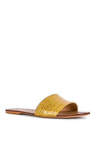 RAYE Houston Sandal in Yellow