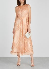 RED VALENTINO Pink tulle and lace dress ~ luxe event wear
