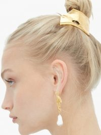 ALIGHIERI The Overthinker gold-plated hair tie | chic updo accessory