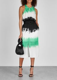 A.L.C. Tallulah tie-dye silk midi dress