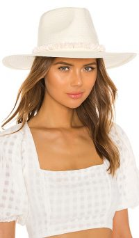ale by alessandra x REVOLVE Lani Hat in Off White & Puka / wide brim summer hats