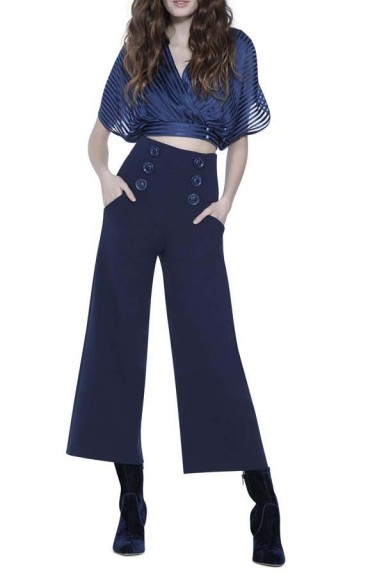 Alice + Olivia Ferris Sailor Pant