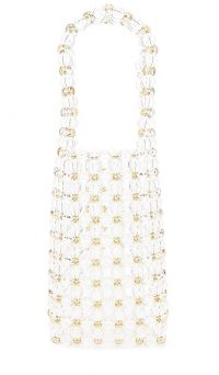 Amber Sceats Sophie Handbag in Clear | beaded bags