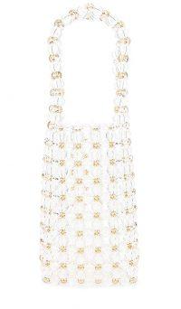 Amber Sceats Sophie Handbag in Clear | beaded bags
