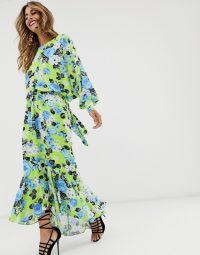 ASOS EDITION maxi dress in chintz print | summer party frock