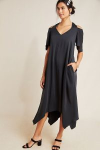 Maeve Georgiana Midi Dress   cold shoulder dresses