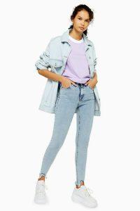 Topshop Bleach Bondi Hem Jamie Jeans | cut away hems