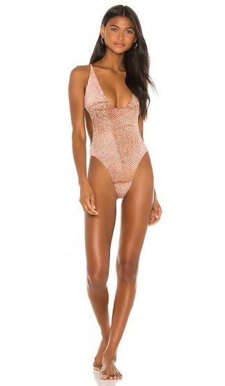 Blue Life Hypnotic One Piece Rose Stamped