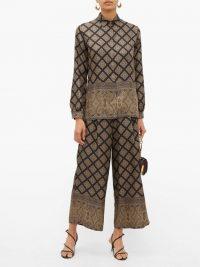 ETRO Camicia paisley-print silk shirt