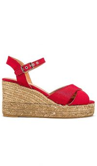 Castaner Blaudell Wedge Rojo | red wedges