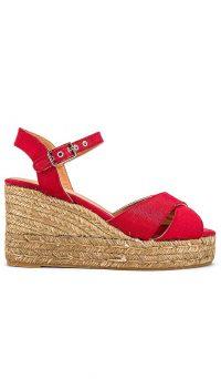 Castaner Blaudell Wedge Rojo | red wedges
