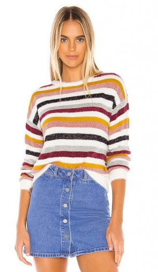cupcakes and cashmere Rach Crew Neck Sweater - flipped