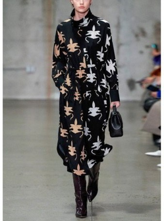 Tibi GHOST ORCHID JUMPSUIT ~ contemporary silk jumpsuits - flipped