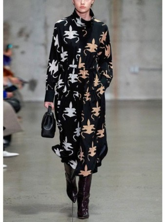 Tibi GHOST ORCHID JUMPSUIT ~ contemporary silk jumpsuits
