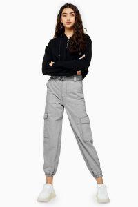 Topshop Grey Jogger Jeans