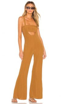 House of Harlow 1960 X REVOLVE Morin Jumpsuit in Toffee | summer fashion