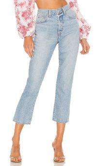 Lovers + Friends Bradley Jean in Riviera | cropped leg jeans