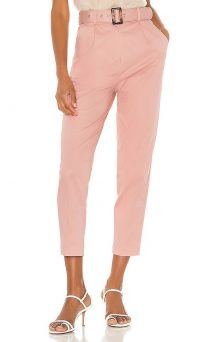 MAJORELLE Charles Pant Dusty Pink