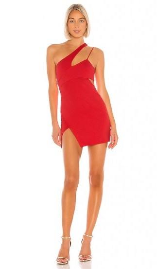 NBD x Naven Chloe Dress Salsa Red - flipped