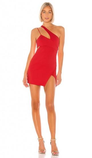 NBD x Naven Chloe Dress Salsa Red