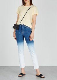 PAIGE Hoxton blue dégradé slim-leg jeans