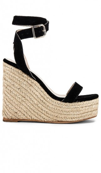 RAYE Tulum Wedge Black