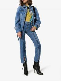 SJYP Raw Detail Jeans
