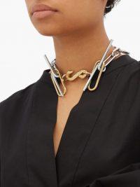 CHOPOVA LOWENA Snake chain necklace