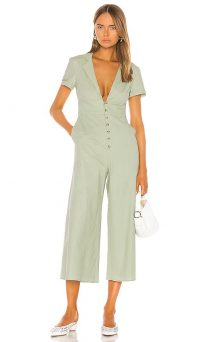 Song of Style Alta Jumpsuit Sage Green