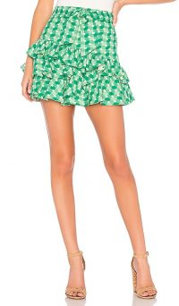 Tularosa Sadie Skirt Kelly Green