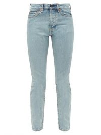 WARDROBE.NYC X Levi's slim-leg jeans ~ light-wash blue denim