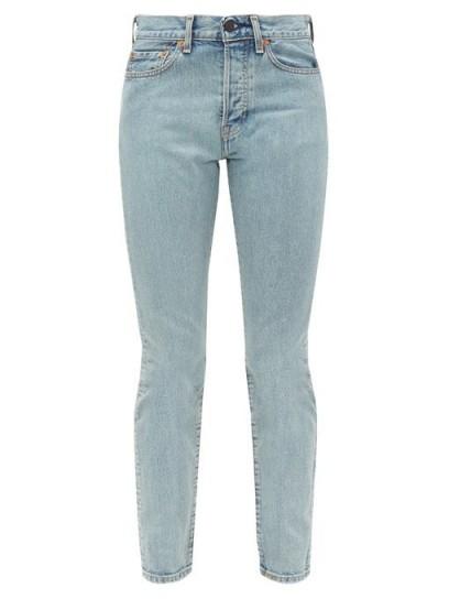 WARDROBE.NYC X Levi's slim-leg jeans ~ light-wash blue denim