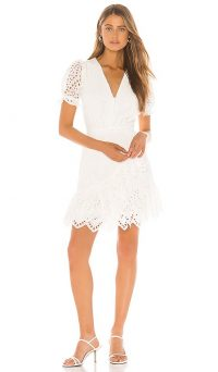 Yumi Kim Be The One Dress – white puffed sleeve dresses