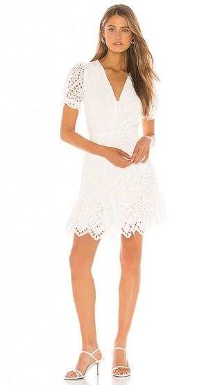 Yumi Kim Be The One Dress – white puffed sleeve dresses