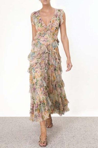 Zimmermann Ninety-Six Flutter Dress - flipped