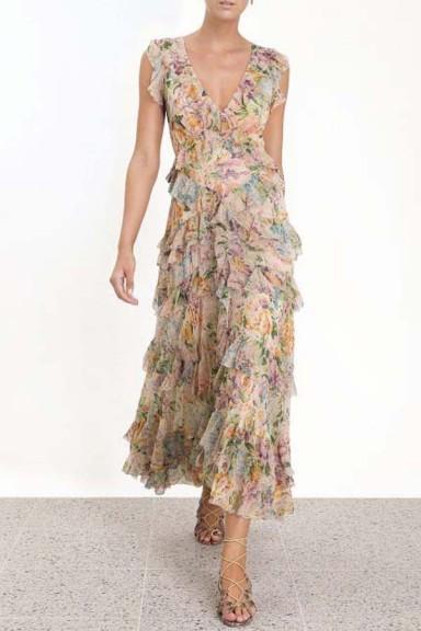 Zimmermann Ninety-Six Flutter Dress