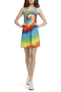 Alice + Olivia Emmie Tie Dye Mini Dress