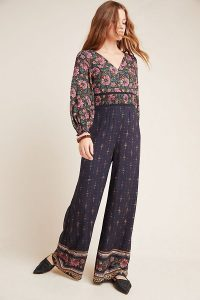 Farm Rio for Anthropologie Giuliana Wide-Leg Jumpsuit