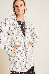 NVLT Chevron Carr Sweater Coat