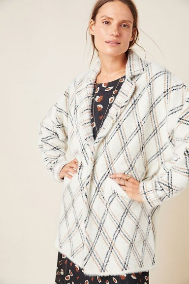 NVLT Chevron Carr Sweater Coat - flipped