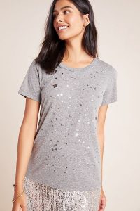 Sol Angeles Star-Foil Tee in Grey