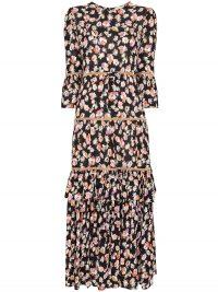 BYTIMO floral print midi dress