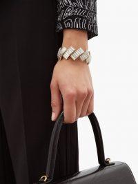 BALENCIAGA Evening crystal-embellished bracelet / glamorous bracelets