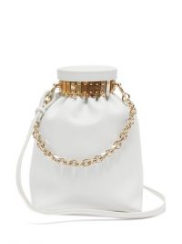 ALTUZARRA Ice white-leather cross-body bag | luxe crossbody bags